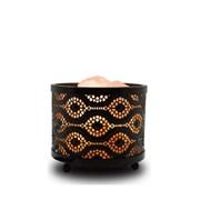 Himalayan Metal Morocco Design Salt Lamp (HS1363B)